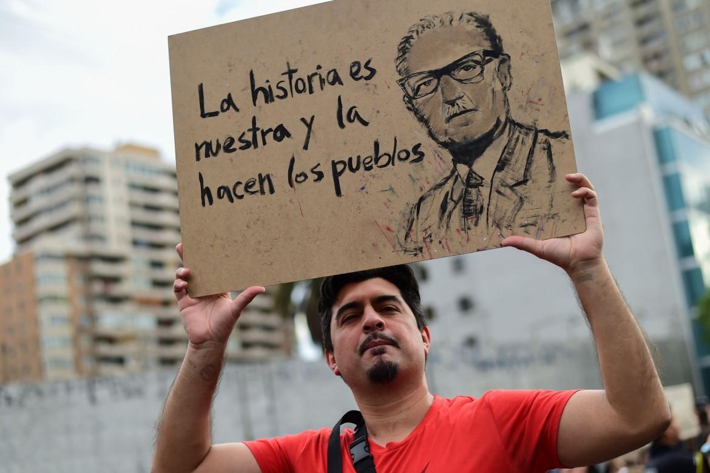 Protesta popolare in Cile