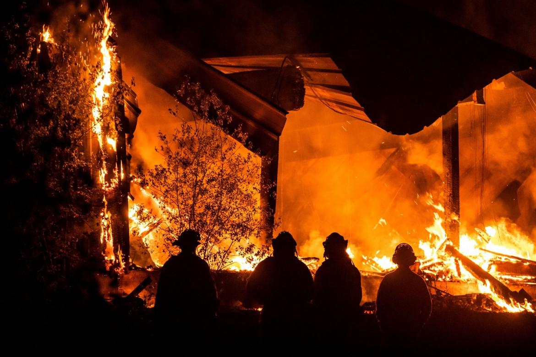 Gli incendi in California