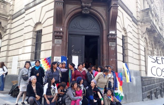 Le donne indigene a Buenos Aires