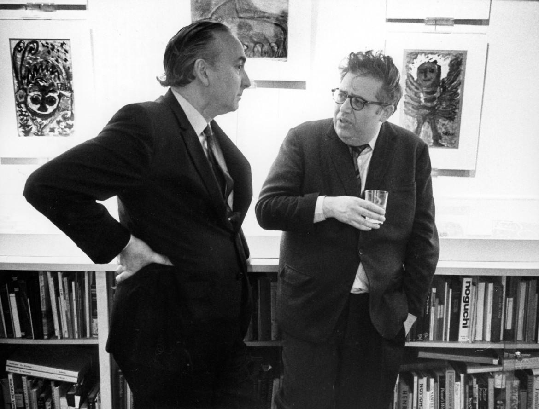 Harold Bloom e John Ward della Oxford University Press