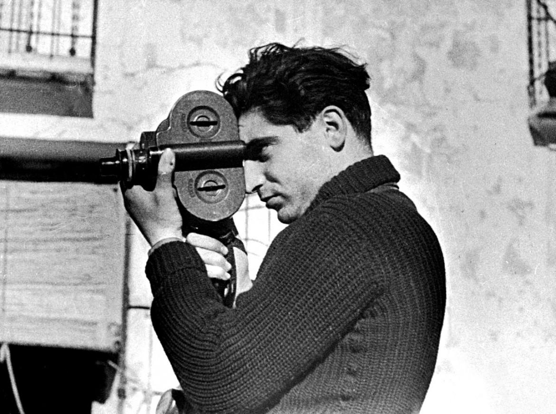 Robert Capa in Spagna nel 1936