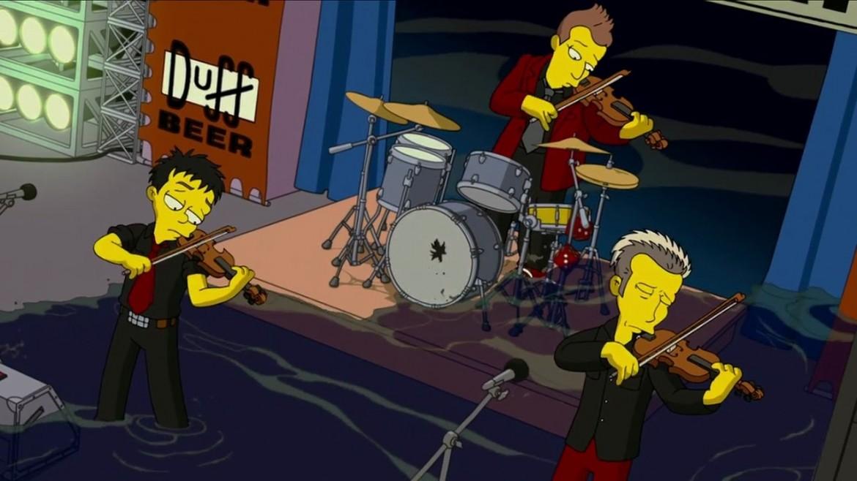 I Green Day in «I Simpson-Il film» (2007)