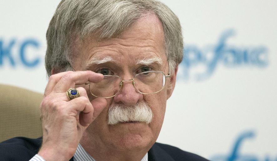 John Bolton, ex presidente del Consiglio per la sicurezza nazionale