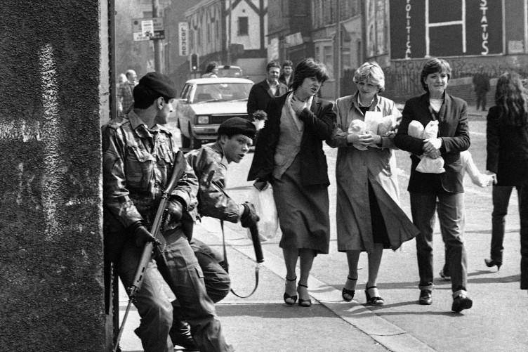 Belfast, 1981 (Foto Associated Press)