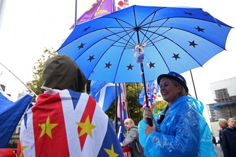 Manifestazione anti-Brexit ieri a Londra