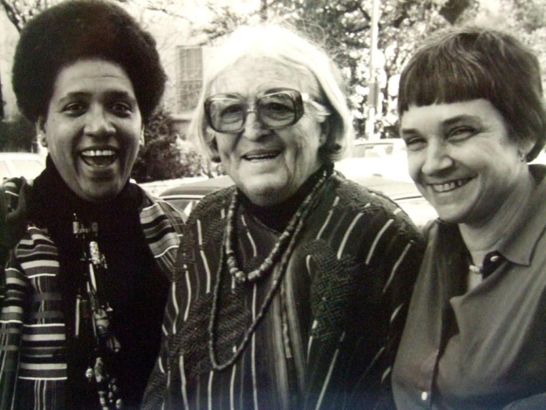 Da sinistra a destra: Audre Lorde, Meridel Le Sueur e Adrienne Rich (1980)