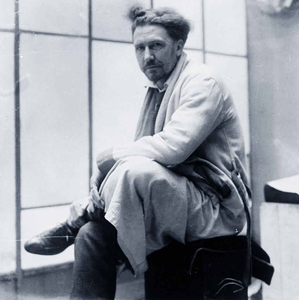 Nella foto Ezra Pound (Idaho, Stati Uniti, 1885 - Venezia, 1972)