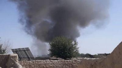 Uno dei raid aerei del maggio 2019