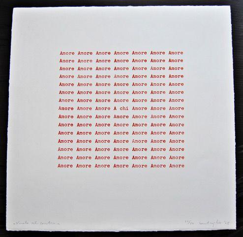 «Vuoto al centro (Amore)», 1966