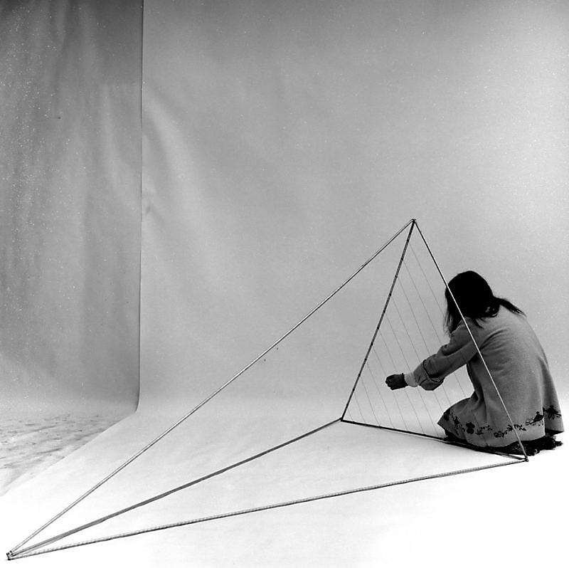 Marisa Merz (1973), foto di Paolo Pellion di Persano
