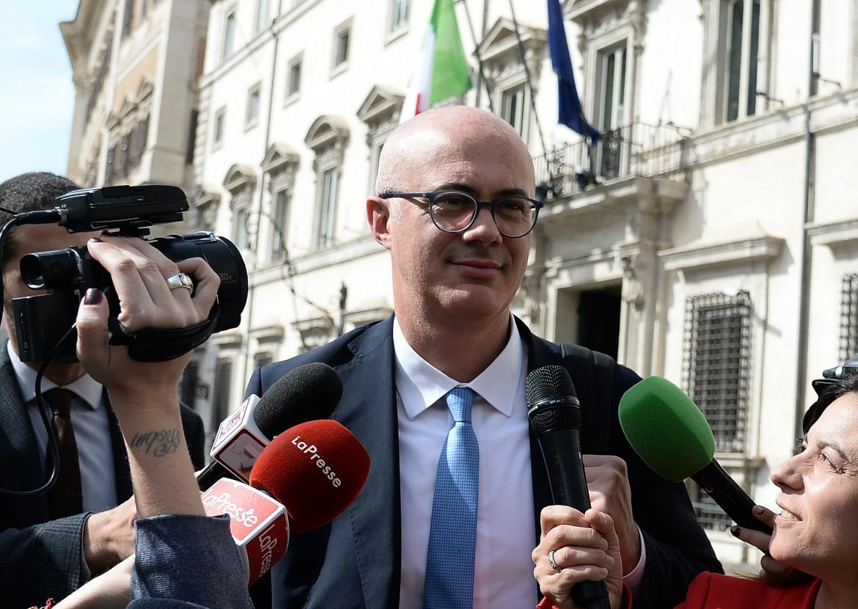 Il ministro per i rapporti con il parlamento Federico D'Incà