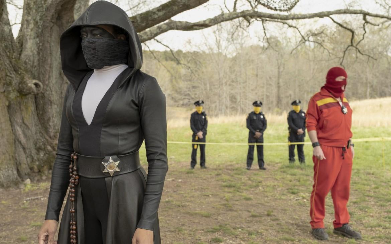 Una scena da «Watchmen»