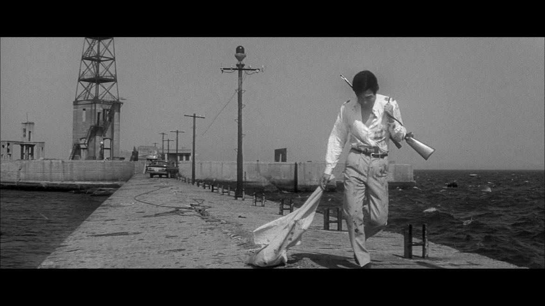 Una scena da Branded to Kill/La farfalla sul mirino di Seijun Suzuki