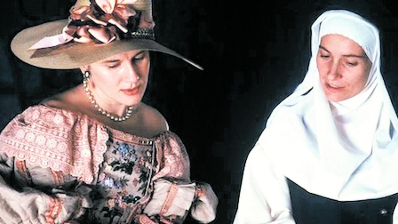 Dominique Sanda e Assunta Serna  in «Yo la peor de todas» di Maria Luisa Bemberg