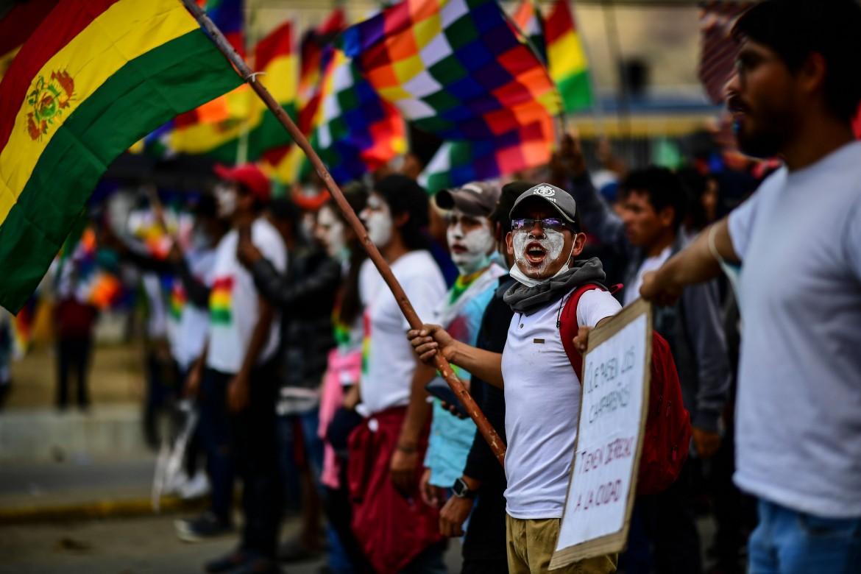 Protesta indigena in Bolivia