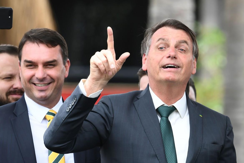 Il presidente brasiliano Bolsonaro