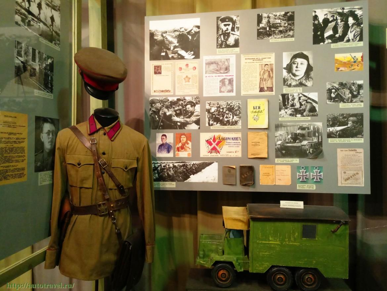 Una stanza  dello «State Memorial Museum» di Leningrado
