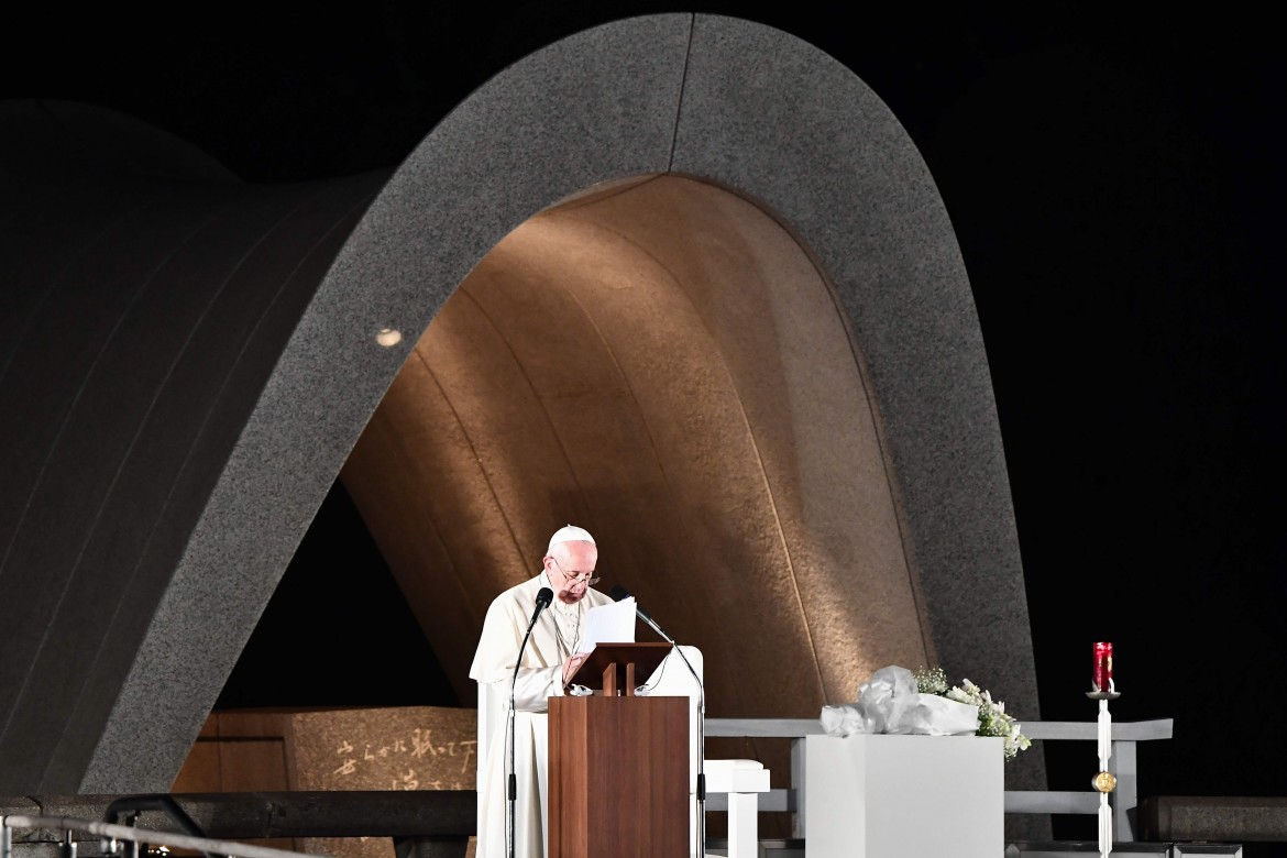 Il papa in Giappone