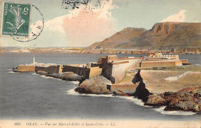 Oran, Algeria, in una cartolina d'epoca