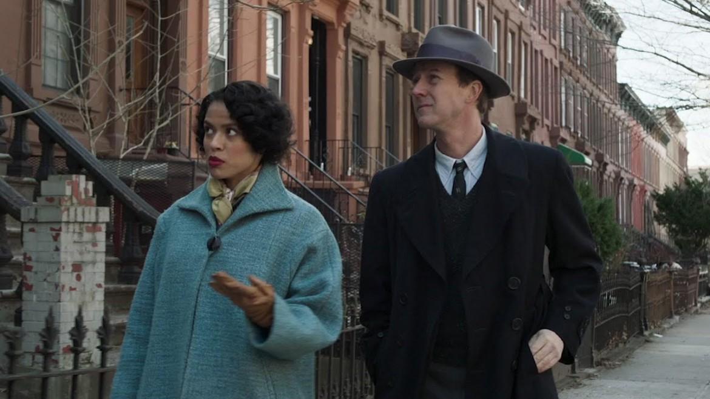 Edward Norton e Leslie Mann in «Motherless Brooklyn»