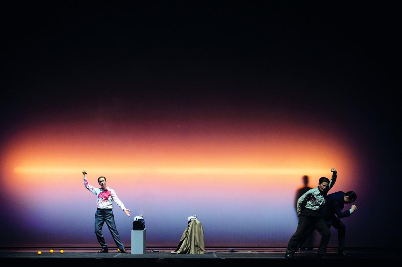 Una scena da «Il primo omicidio» di Scarlatti, regia di Romeo Castellucci