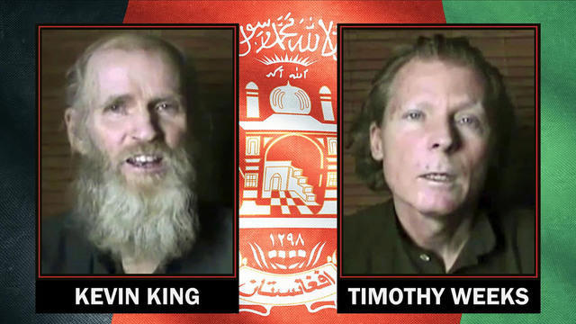 I due docenti liberati in Afghanistan