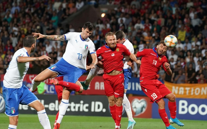 Un'azione da Armenia Italia 1-3