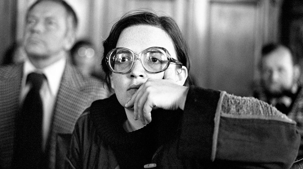 Agnieszka Holland (Varsavia, 1948) negli anni settanta