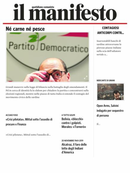 Edizione del 20112019