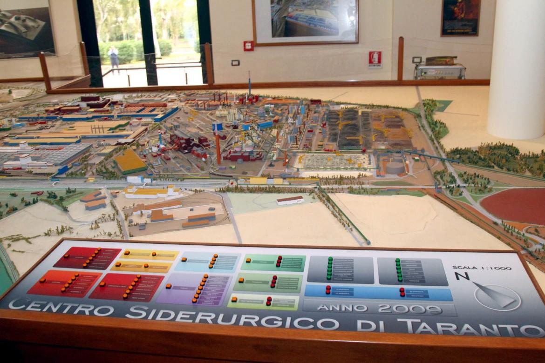 Ol progetto plastico del Centro Siderurgico di Taranto