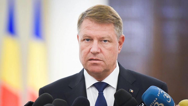 Il presidente della Repubblica della Romania, Klaus Iohannis