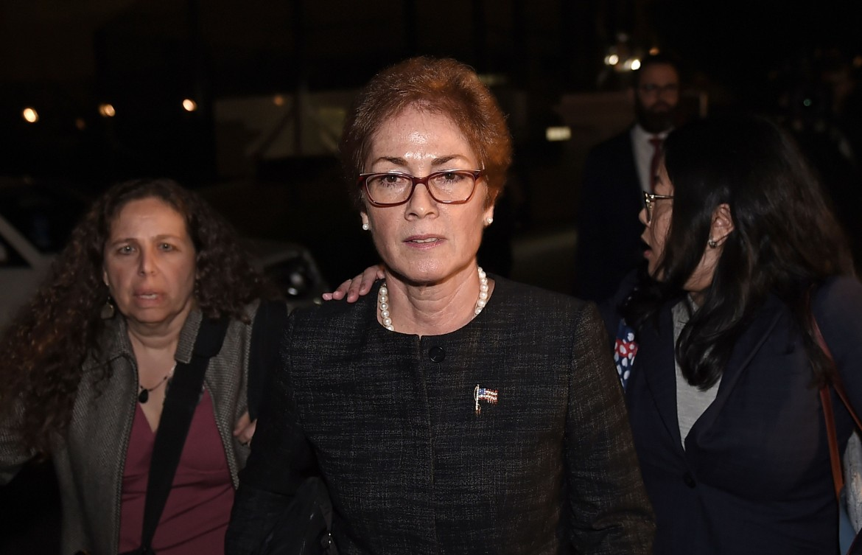 Marie Yovanovitch, ex ambasciatrice in Ucraina