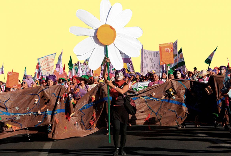 Un'immagine della Marcha das Margaridas