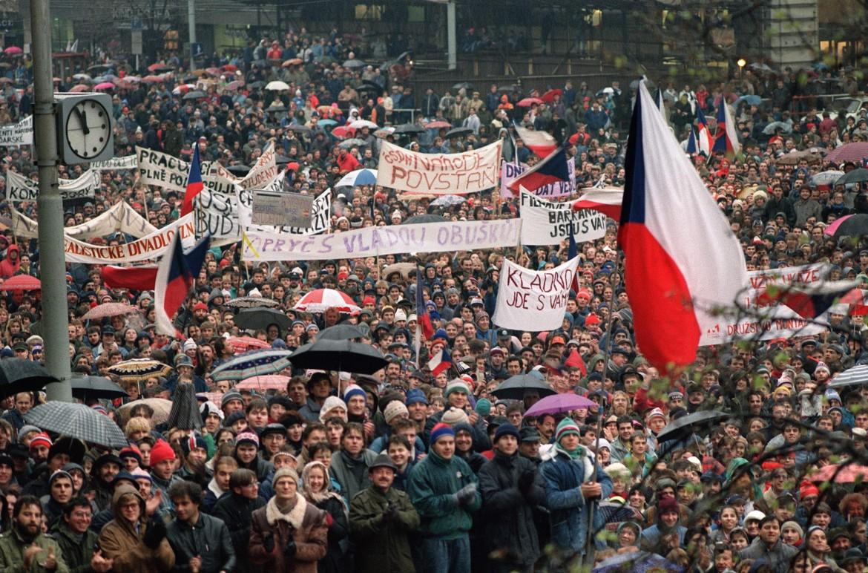 Praga, novembre 1989