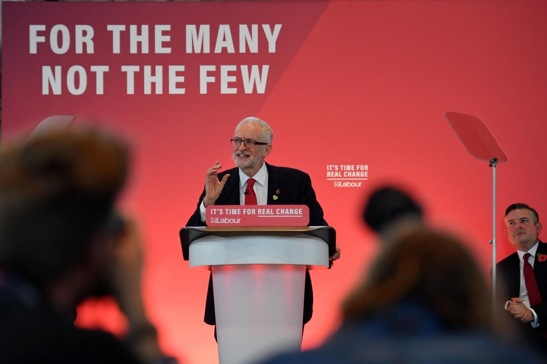 Jeremy Corbyn lancia la campagna elettorale del Labour