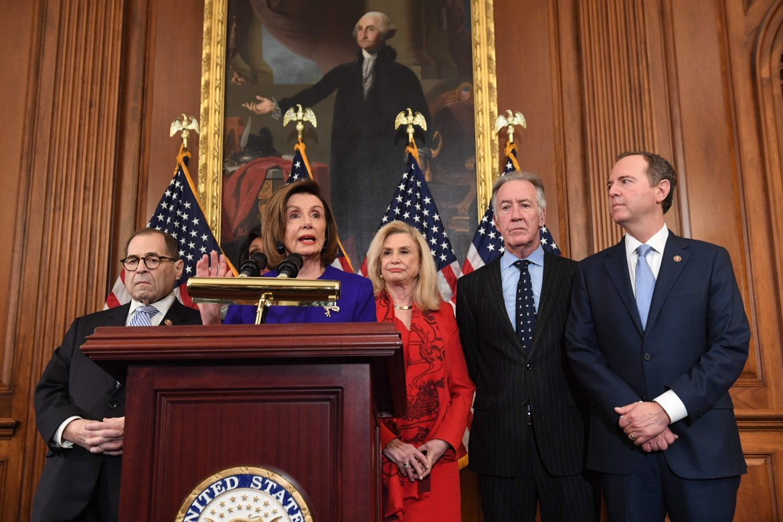 La speaker della Camera, Nancy Pelosi