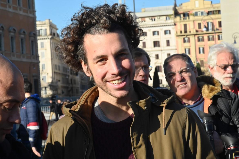 Mattia Santori, uno dei quattro fondatori delle sardine