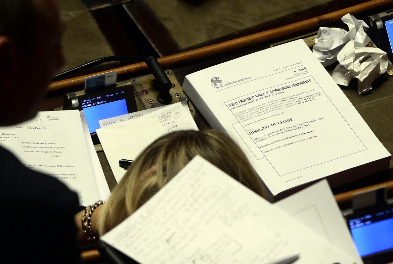 Testi parlamentari studiati da un senatore