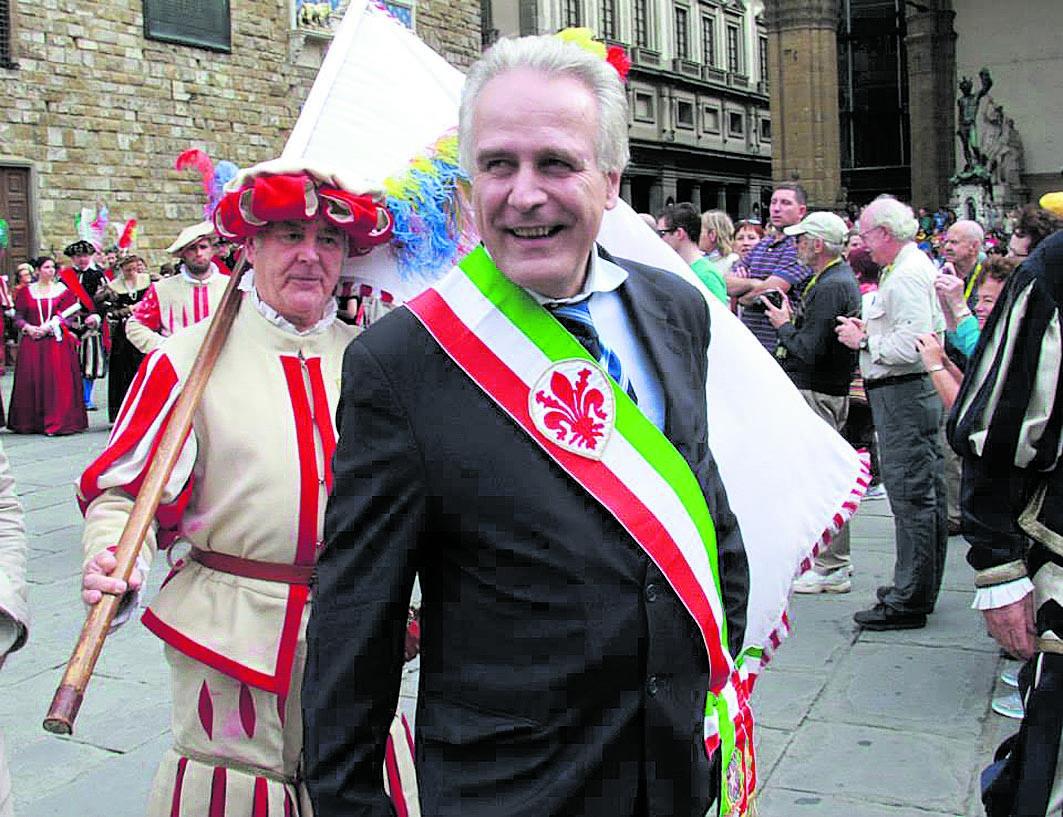 Il governatore toscano Eugenio Giani
