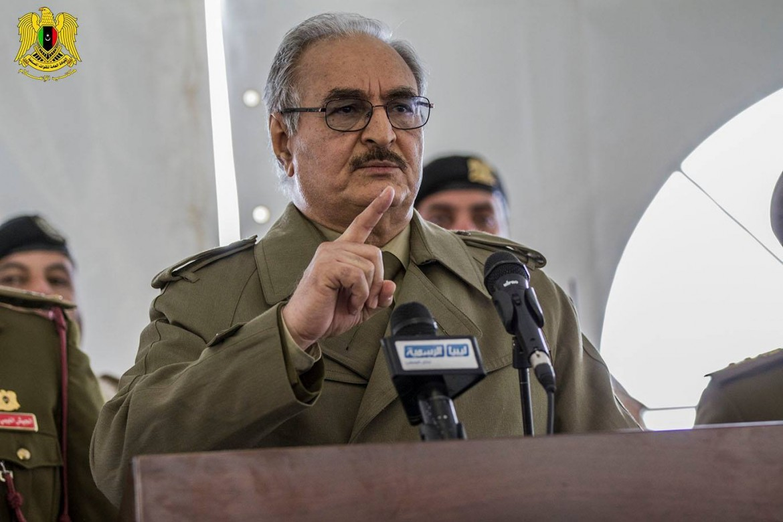 Il generale libico Khalifa Haftar