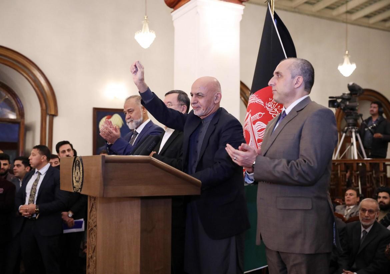Il presidente afghano Ashraf Ghani