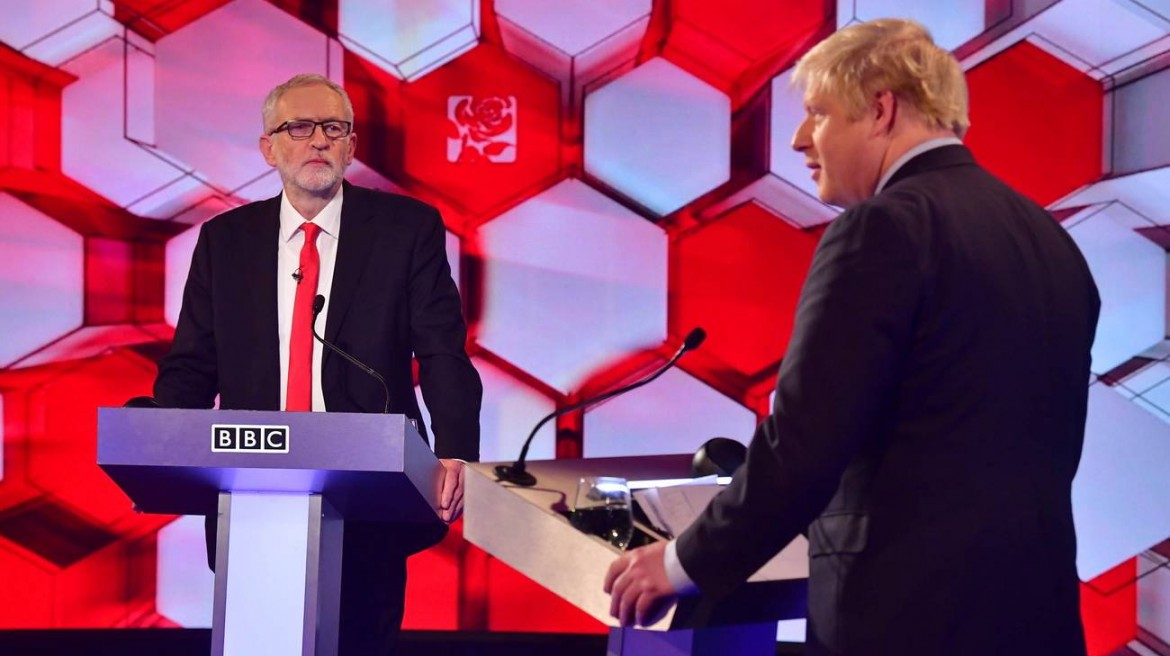 L'ultimo confronto tv tra Jeremy Corbyn e Boris Johnson