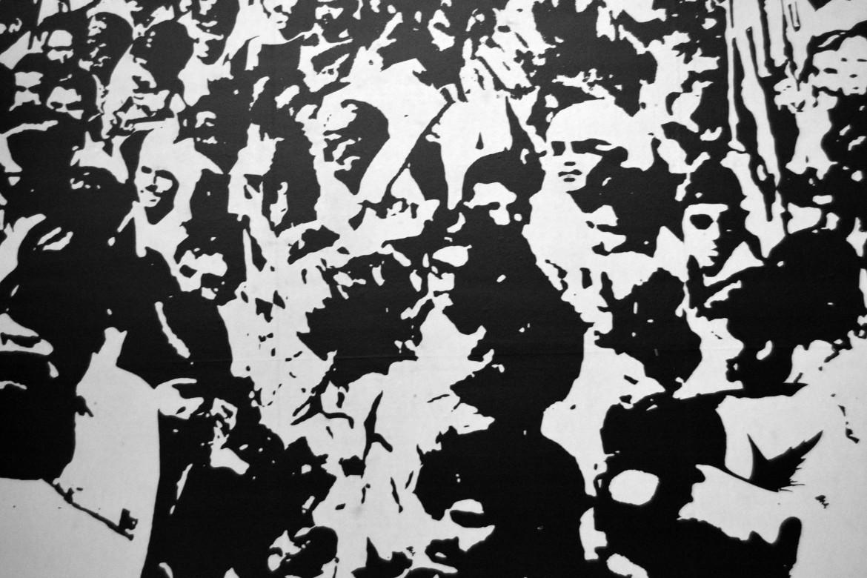 Navjot Altaf, particolare di un poster degli anni settanta (foto di Manuela De Leonardis)