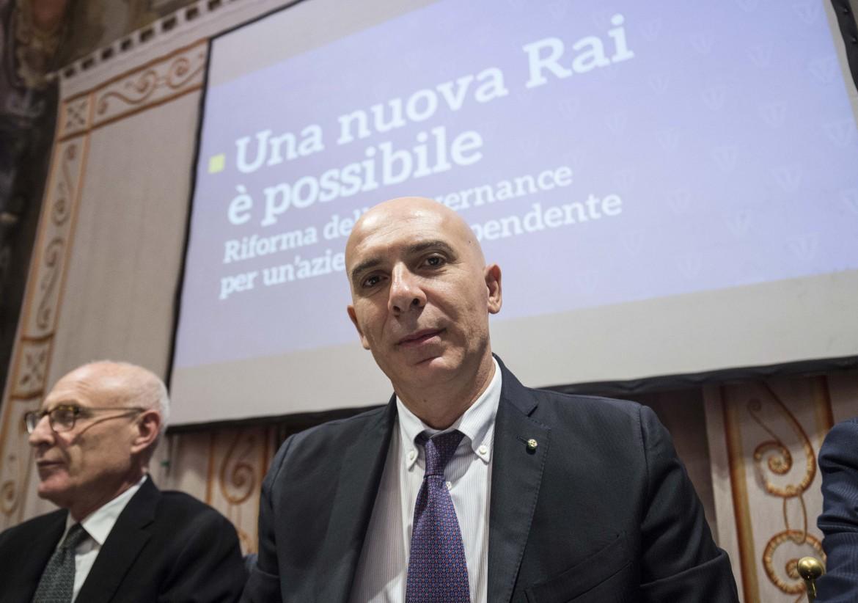 L'amministrazione delegato della Rai Fabrizio Salini