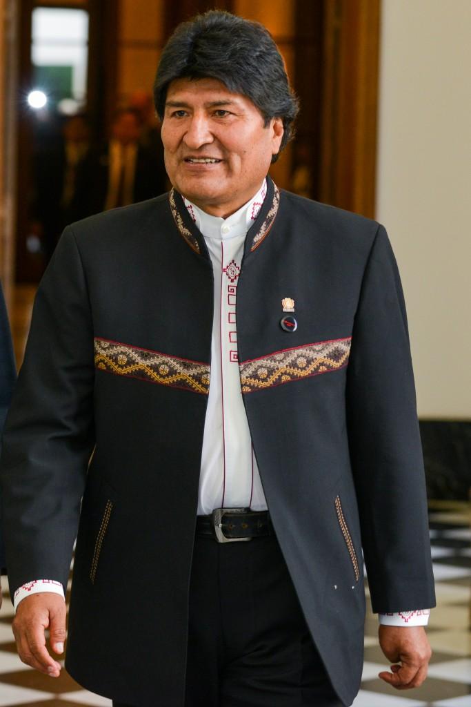 L'ex presidente boliviano Evo Morales, esiliato in Argentina