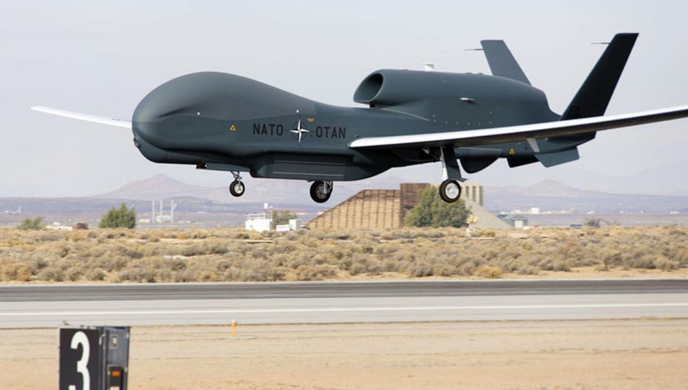Il nuovo drone d'intelligence della Nato