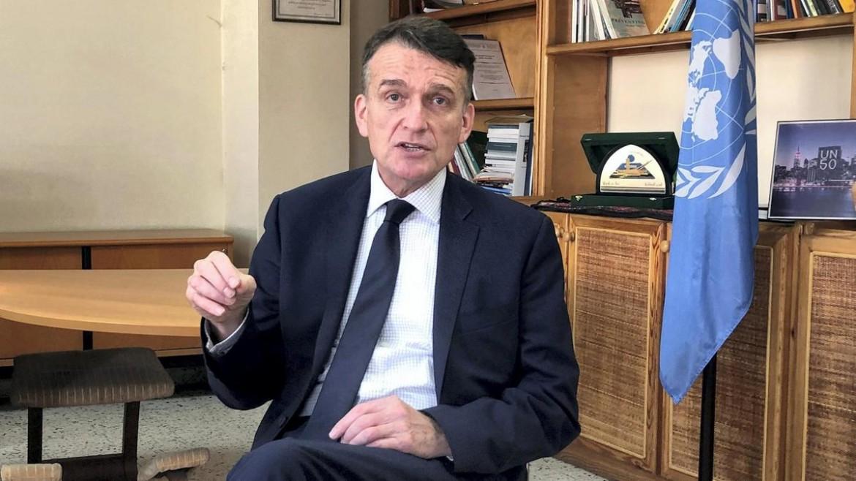 Christian Saunders, commissario generale ad interim dell'Unrwa