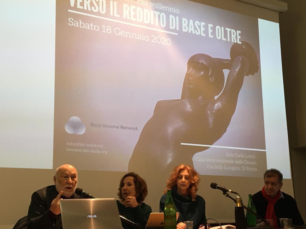 Il dibattito alla Casa Internazionale delle Donne a Roma