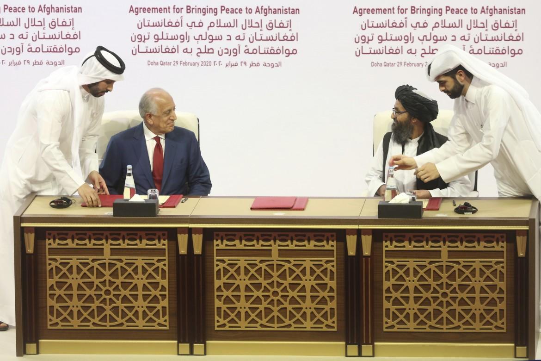 La firma della pace Usa-Talebani a Doha, il 29 febbraio