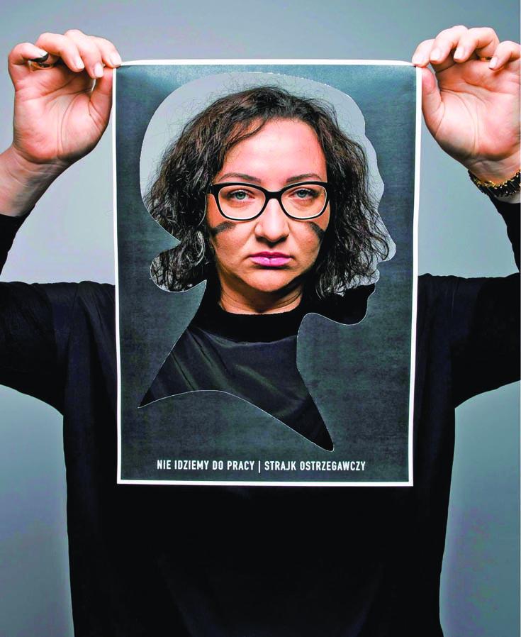 Marta Lempart foto di Kornelia Glowacka-Wolf